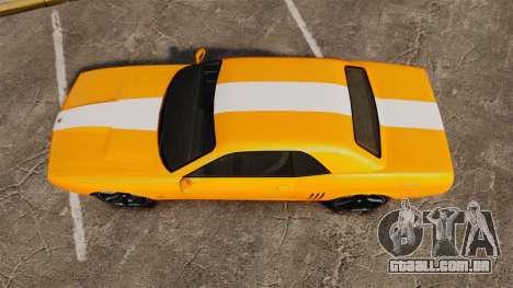 GTA V Gauntlet 450cui Turbocharged para GTA 4 vista direita