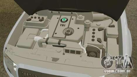 Skoda Superb 2006 Unmarked Police [ELS] para GTA 4 vista interior