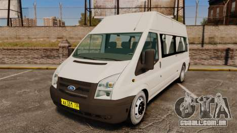 Ford Transit Passenger para GTA 4