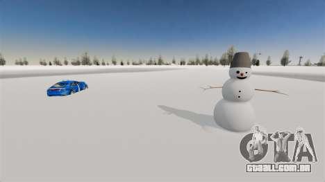 Localização do país das maravilhas do Ártico para GTA 4 segundo screenshot