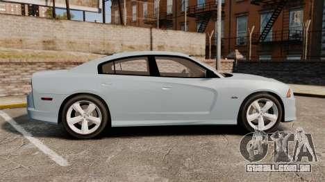 Dodge Charger 2012 para GTA 4 esquerda vista
