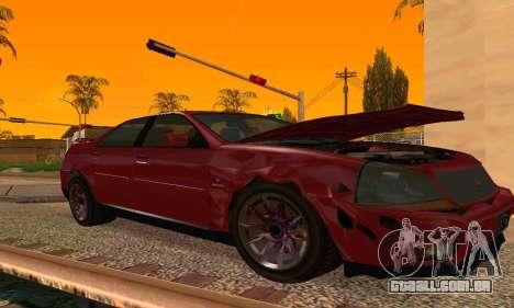 Presidente do GTA IV para GTA San Andreas traseira esquerda vista