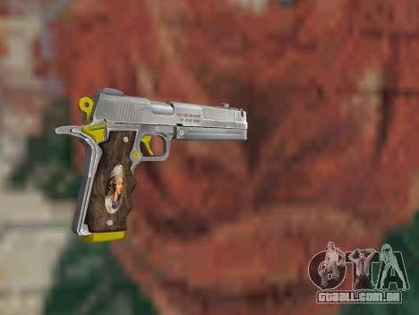 Ebony para GTA San Andreas segunda tela
