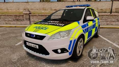 Ford Focus Estate Metropolitan Police [ELS] para GTA 4