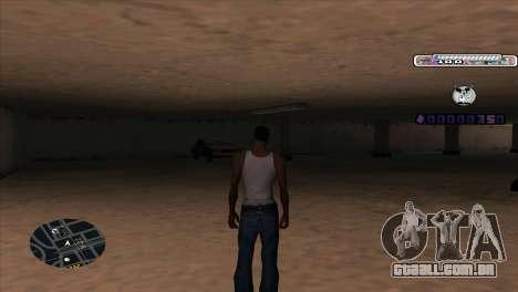 C-HUD Cesar Weezy para GTA San Andreas