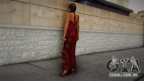 Ada Wong para GTA San Andreas segunda tela