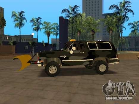 Chevrolet Blazer para GTA San Andreas esquerda vista