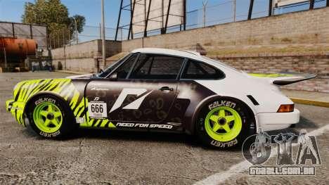 Porsche 911 Carrera RSR 1974 Rival para GTA 4 esquerda vista