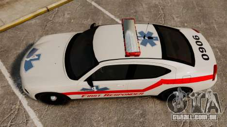 Dodge Charger First Responder [ELS] para GTA 4 vista direita