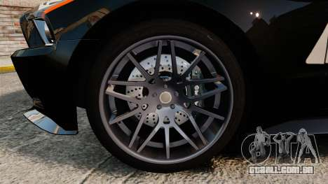 Ford Mustang GT 2013 NFS Edition para GTA 4 vista de volta