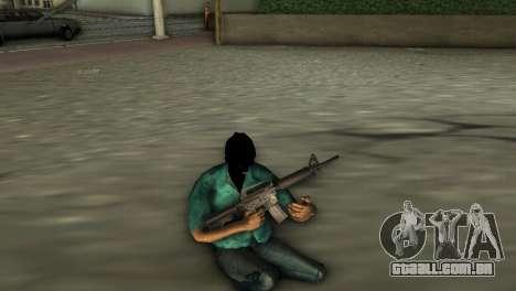 Carabina M4 para GTA Vice City terceira tela
