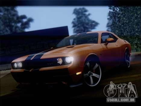 Dodge Challenger SRT8 2012 HEMI para GTA San Andreas esquerda vista