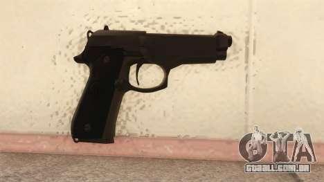 Beretta 92 FS para GTA San Andreas segunda tela