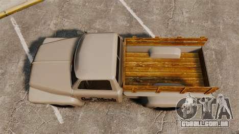 Hot Rod Truck Gas Monkey v2.0 para GTA 4 vista direita