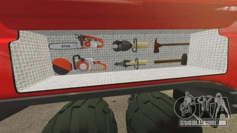 Pro Track SR2 Firetruck [ELS] para GTA 4 vista inferior