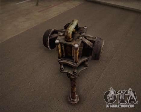 Mutante de morcego de Fallout 3 para GTA San Andreas terceira tela