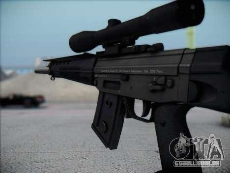 Rifle Sniper HD para GTA San Andreas por diante tela