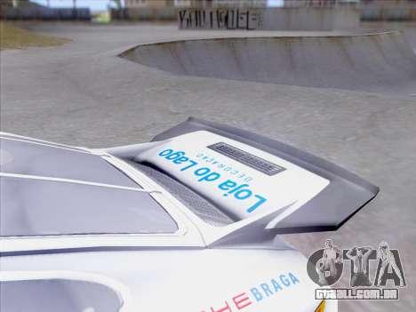 Porsche 911 RSR 3.3 skinpack 1 para GTA San Andreas vista superior