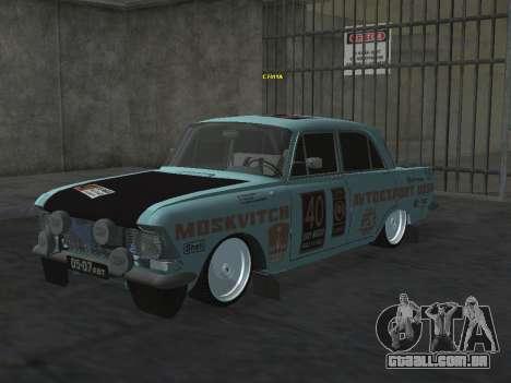 Rally Moskvich 412 para GTA San Andreas