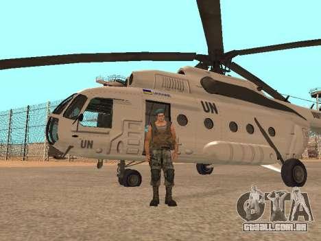Formulário para CJ para GTA San Andreas terceira tela