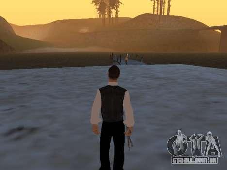Um mito sobre o pescador para GTA San Andreas segunda tela