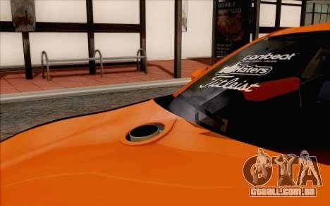 Toyota GT86 Lowstance para GTA San Andreas vista traseira