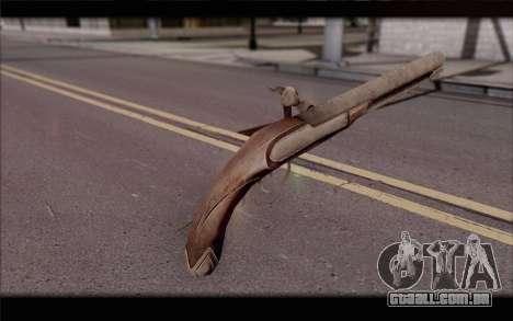 Pistola Flint-Lock para GTA San Andreas segunda tela
