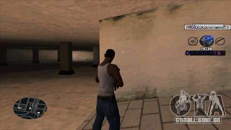C-HUD Cesar Weezy para GTA San Andreas segunda tela