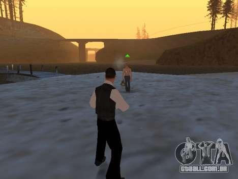 Um mito sobre o pescador para GTA San Andreas por diante tela