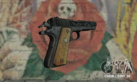 Colt 45 fora The Darkness 2 para GTA San Andreas segunda tela