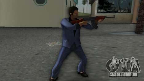 Vz-58 para GTA Vice City terceira tela
