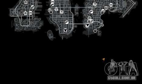 Localização StartMap para GTA 4 quinto tela
