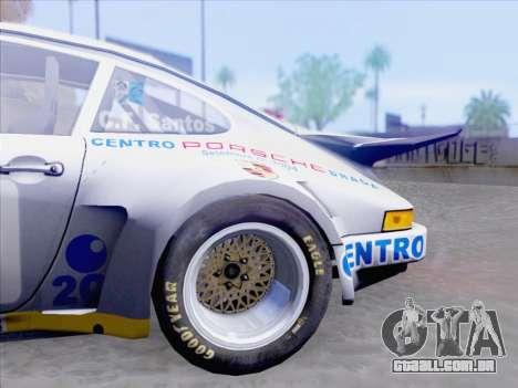 Porsche 911 RSR 3.3 skinpack 1 para vista lateral GTA San Andreas