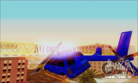 Fun Maverick para GTA San Andreas vista direita