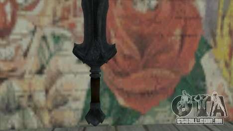 A espada imperial para GTA San Andreas segunda tela