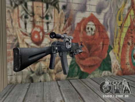 AK-47 de um Stalker para GTA San Andreas segunda tela