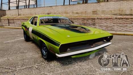 Plymouth Cuda AAR 1970 para GTA 4