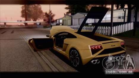 Lamborghini Gallardo LP560-4 Coupe 2013 V1.0 para as rodas de GTA San Andreas