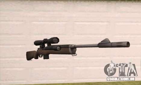 Rifle sniper de Left 4 Dead 2 para GTA San Andreas