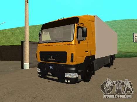 MAZ 6312A8 para GTA San Andreas