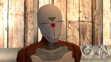 Raposa-cinzenta para GTA San Andreas terceira tela