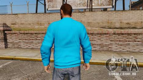 Camisola-banco - para GTA 4 segundo screenshot