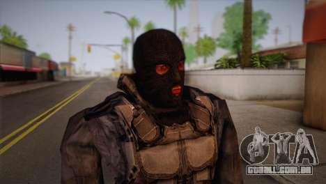 Um mercenário da s. l. a. t. k. e. R para GTA San Andreas terceira tela