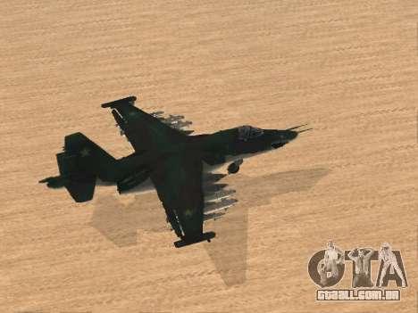 Su-25 para GTA San Andreas
