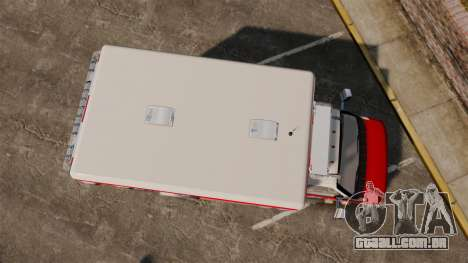Ford E-350 LCFR [ELS] para GTA 4 vista direita