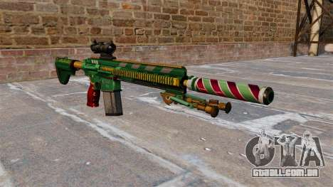 HK417 rifle para GTA 4