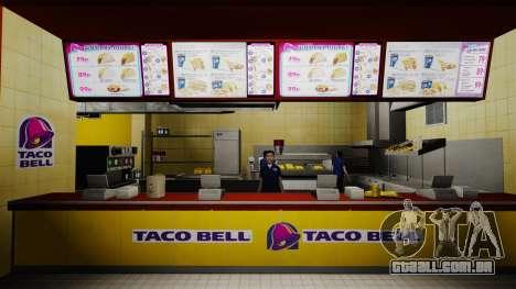 Comer McDonald ' s e Taco Bell para GTA 4 sexto tela