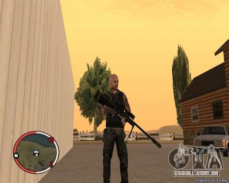 L115A3 Sniper Rifle para GTA San Andreas segunda tela