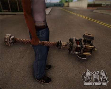 Mutante de morcego de Fallout 3 para GTA San Andreas por diante tela