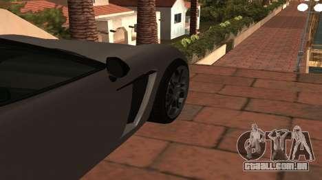 Carbonizzare de GTA 5 para GTA San Andreas vista traseira